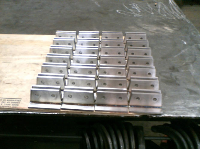 Stainless glass brackets